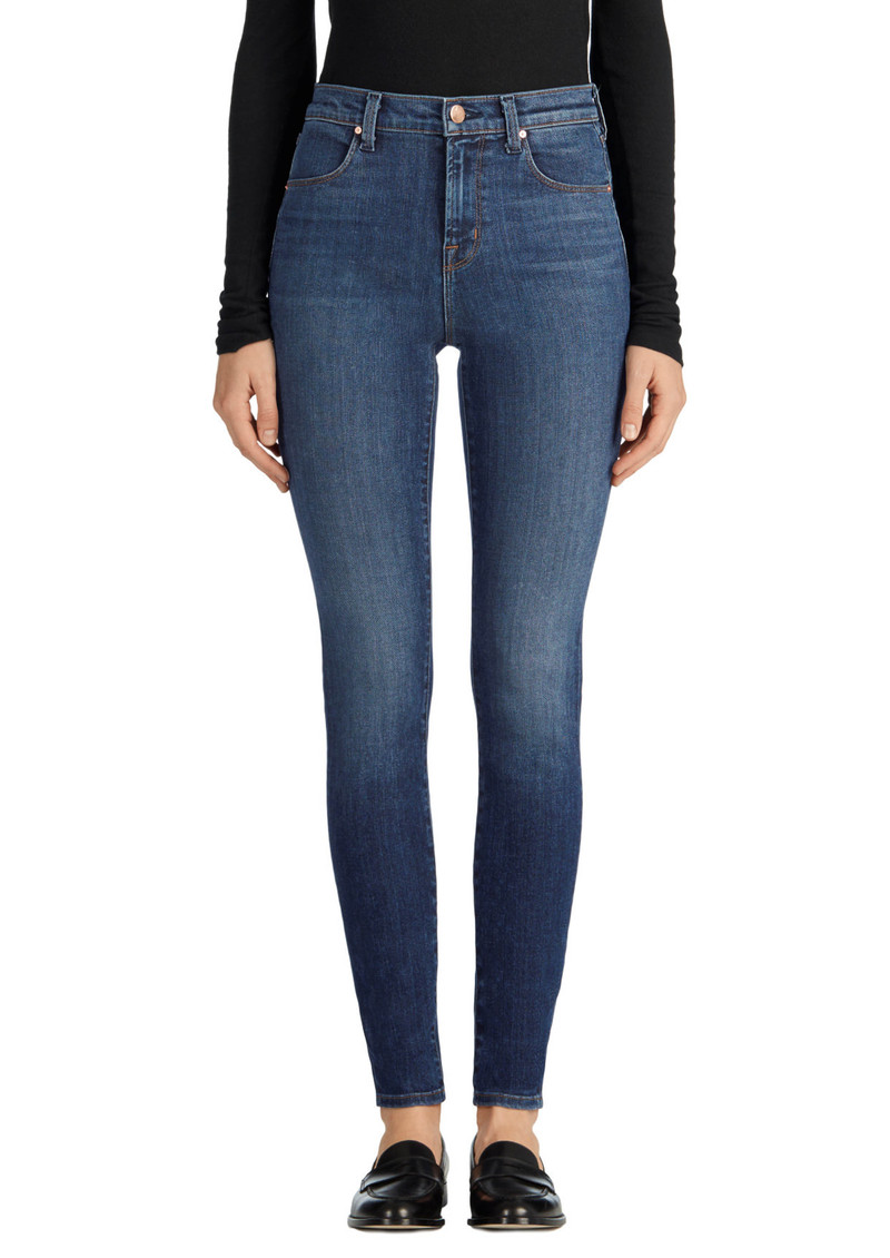 J Brand MARIA HIGH RISE SUPER SKINNY JEANS - Fleeting main image