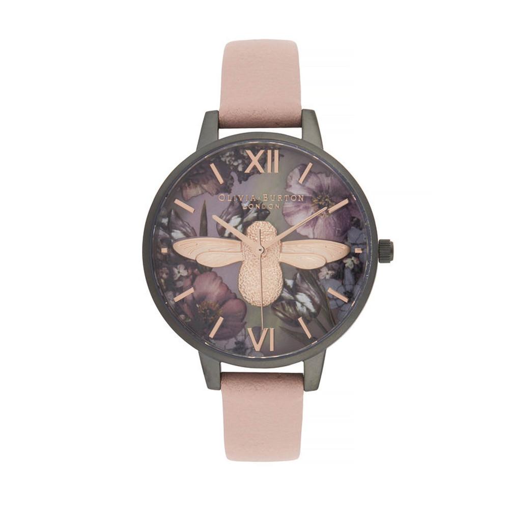 Twilight Demi Dial Watch in Lilac, Pink & Gunmetal