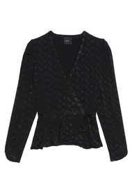IDANO Vitelotte Top - Black