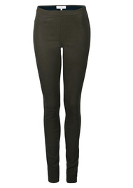 DANTE 6 Dolmann Crackle Leather Leggings - Raven
