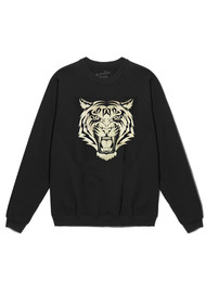 ON THE RISE Tiger Sweatshirt - Black & Gold