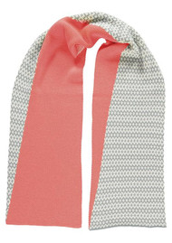 MISS POM POM Graphic Scarf - Pink