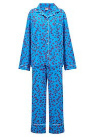 UNIVERSE OF US Leopard Pyjama Set - Blue
