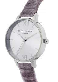 Olivia Burton Sunray Demi Dial Watch - Lilac Velvet & Silver