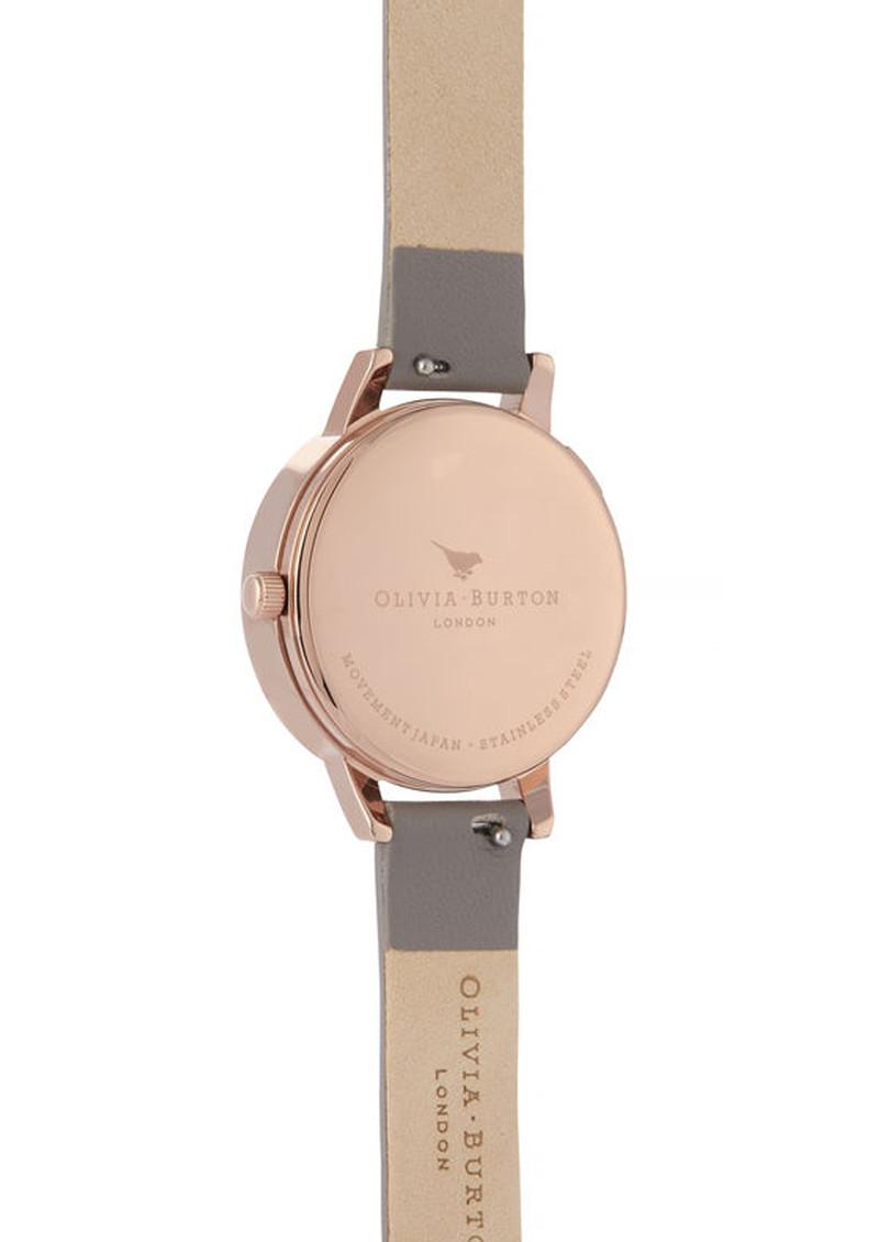 Olivia Burton Wishing Watch Midi Dial Watch - London Grey & Rose Gold main image