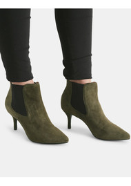 SHOE THE BEAR Agnete Suede Boots - Green
