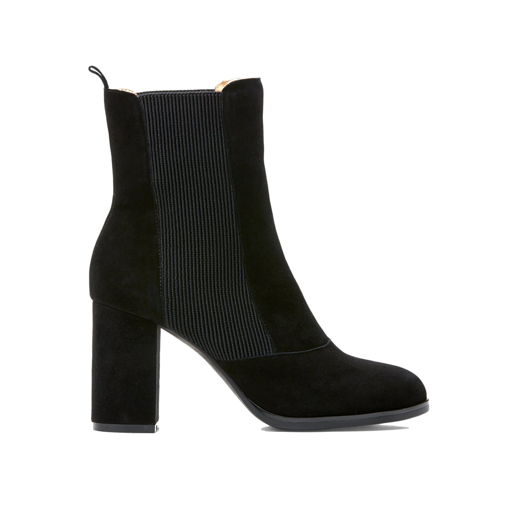 Bich Suede Boot - Black