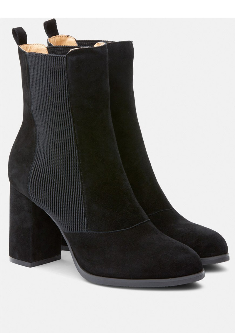 Bich Suede Boot - Black   main image