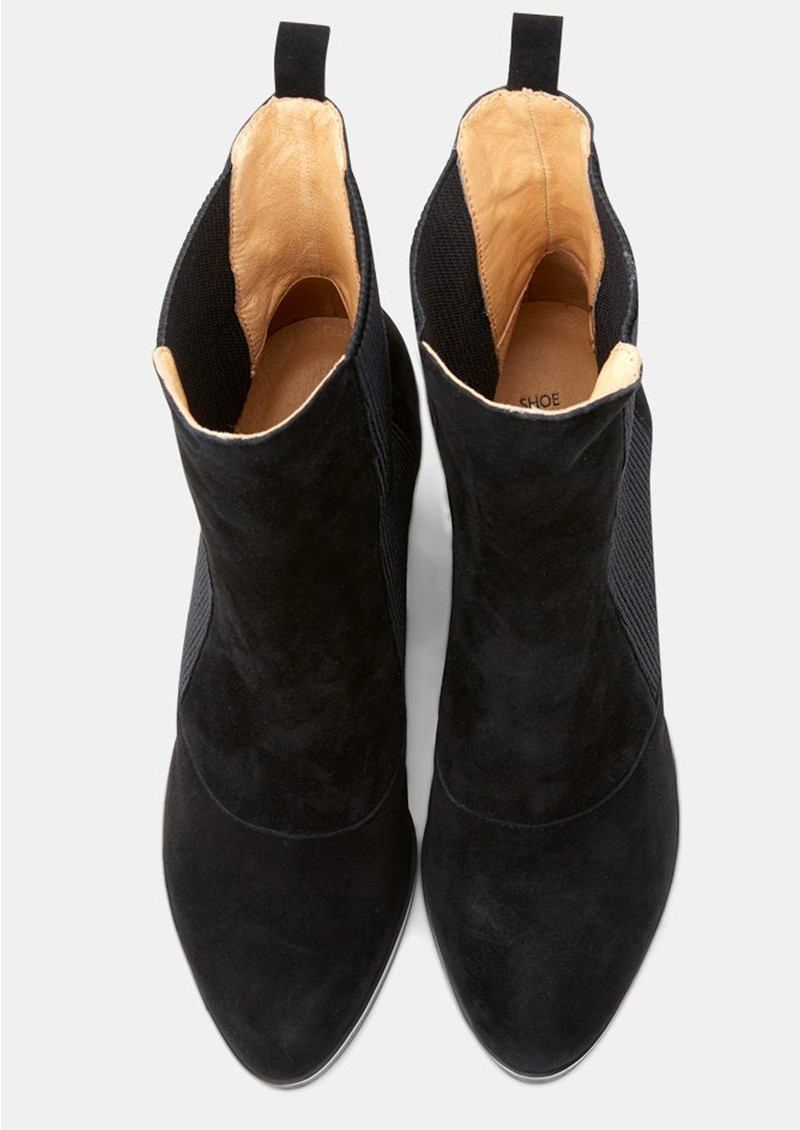 SHOE THE BEAR Bich Suede Boot - Black   main image
