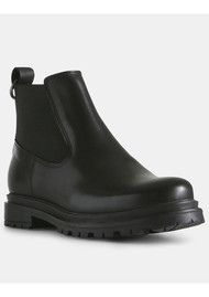 SHOE THE BEAR Akira Leather Chelsea Boot - Black