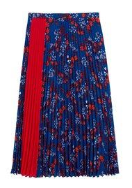 IDANO Champignon Pleated Skirt - Blue