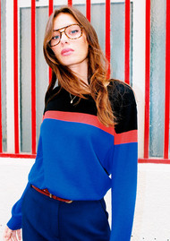 IDANO Chataigne Sweater - Blue