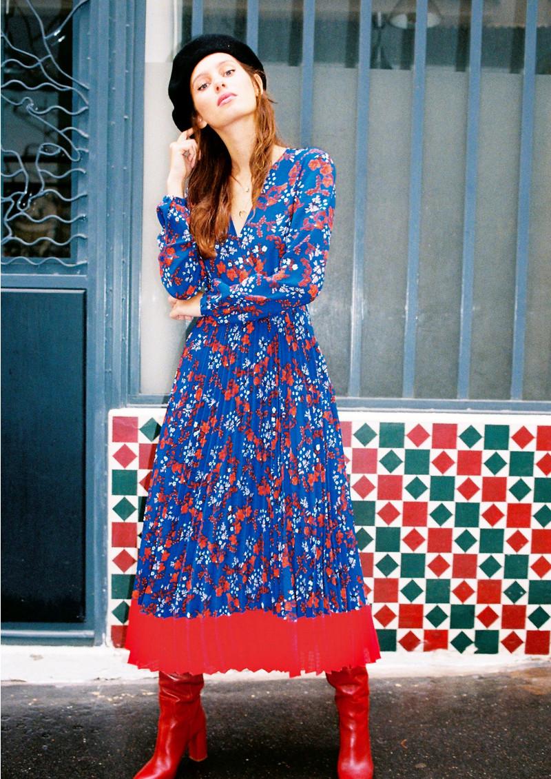 IDANO Cerise Dress - Blue main image