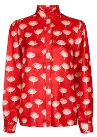 FABIENNE CHAPOT Mara Silk Blouse - Flower Print