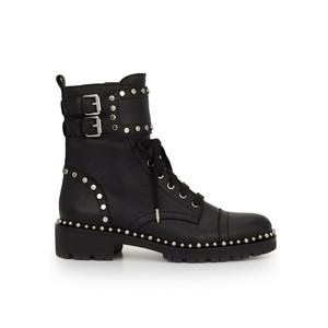 Jennifer Biker Boots - Black