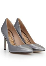 Sam Edelman Hazel Leather Heels - Anthracite