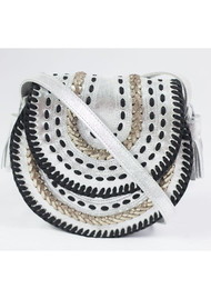 NOOKI D'Souza Cross Body Bag - Silver