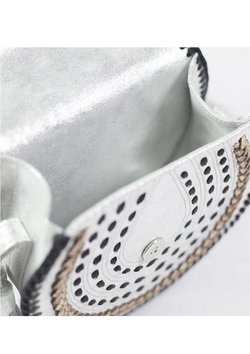 NOOKI D'Souza Cross Body Bag - Silver main image