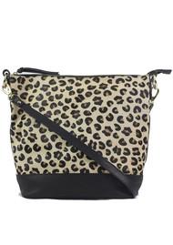 NOOKI Fion Leopard Bucket Bag - Leo