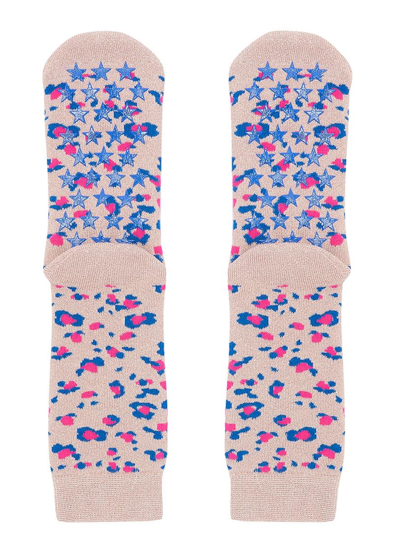 UNIVERSE OF US Slipper Socks - Leo Rose main image