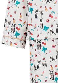 UNIVERSE OF US Dancing Dogs Pyjama Set - Multi