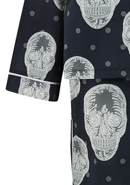 UNIVERSE OF US Skull Pyjama Set - Black