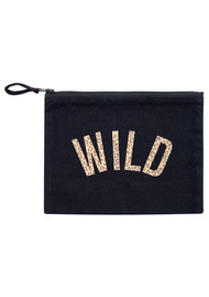 UNIVERSE OF US Wild Leopard Make Up Bag - Black