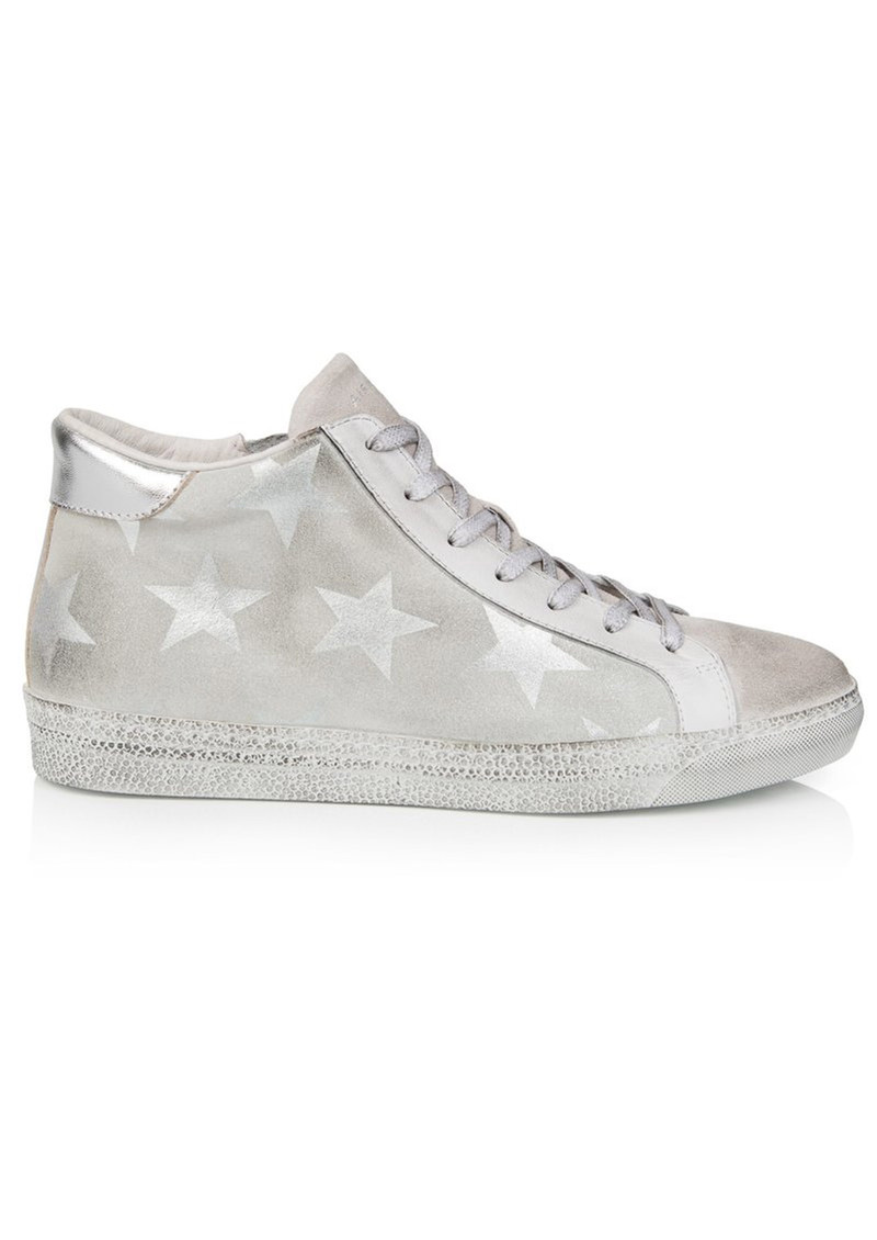 AIR & GRACE Alto Trainers - White Star main image