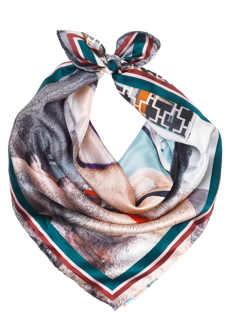 Cph Hunks Silk Scarf - Multi main image
