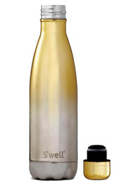 SWELL The Ombre 17oz Water Bottle - Yellow Gold