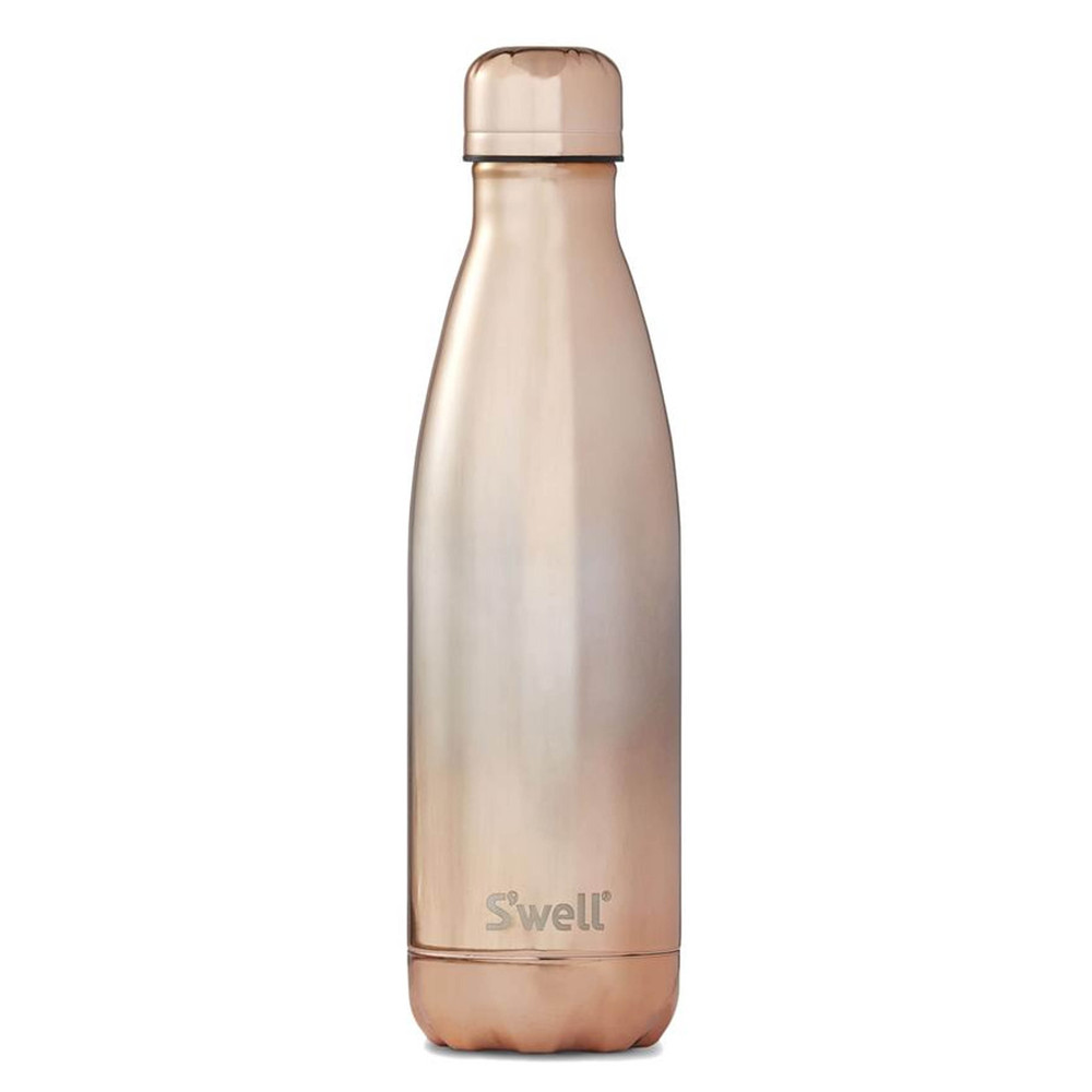 The Ombre 17oz Water Bottle - Rose Gold