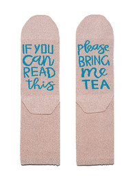 UNIVERSE OF US Sparkle Socks - Tea