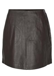 Day Birger et Mikkelsen  Day Nissa Leather Skirt - Groom