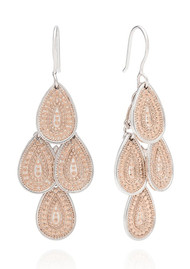 ANNA BECK XL Chandelier Earrings - Rose Gold