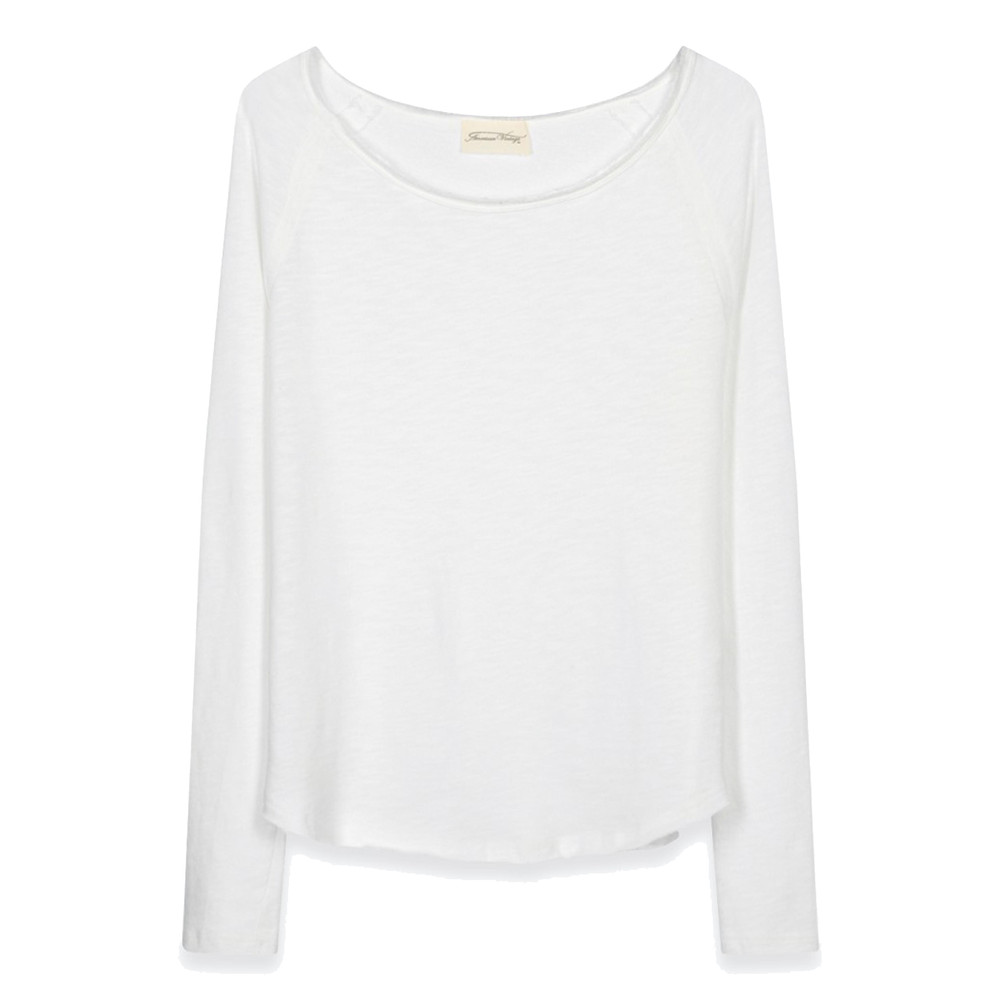 SONOMA ROUND NECK TOP - WHITE