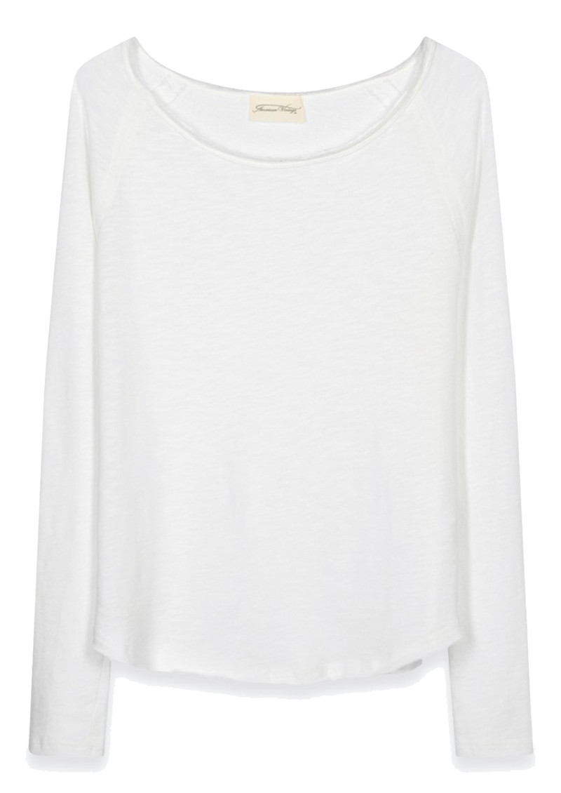 SONOMA ROUND NECK TOP - WHITE main image