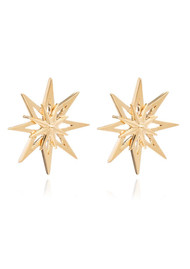 RACHEL JACKSON Rockstar Star Large Studs - Gold