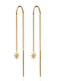 RACHEL JACKSON Rockstar Star Threaders - Gold