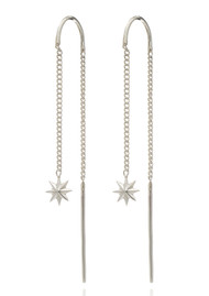 RACHEL JACKSON Rockstar Star Threaders - Silver