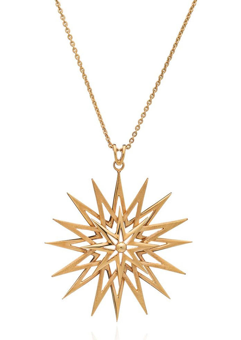 Rockstar Statement Necklace - Gold  main image