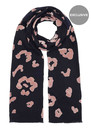 Lily and Lionel Exclusive Roar Scarf - Navy & Nude