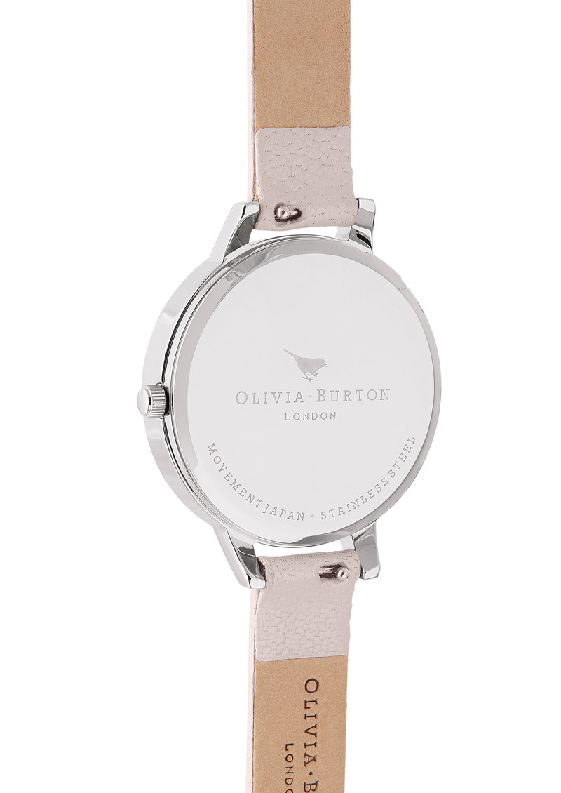 Olivia Burton Marble Florals Watch - Pink, Rose Gold & Silver main image