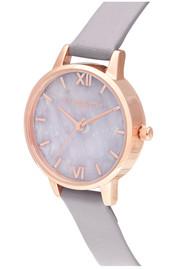 Olivia Burton Semi Precious Midi Dial Watch - Amethyst, Lilac & Rose Gold