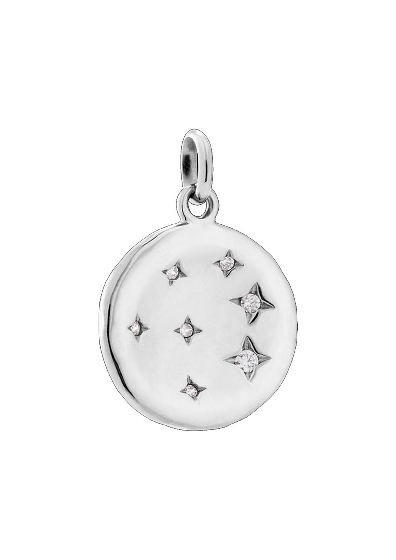 KIRSTIN ASH Constellation Circle Charm - Silver main image
