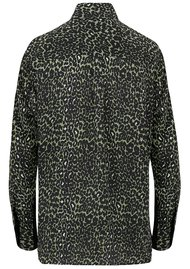 Mercy Delta Goodwood Silk Shirt - Micro Safari