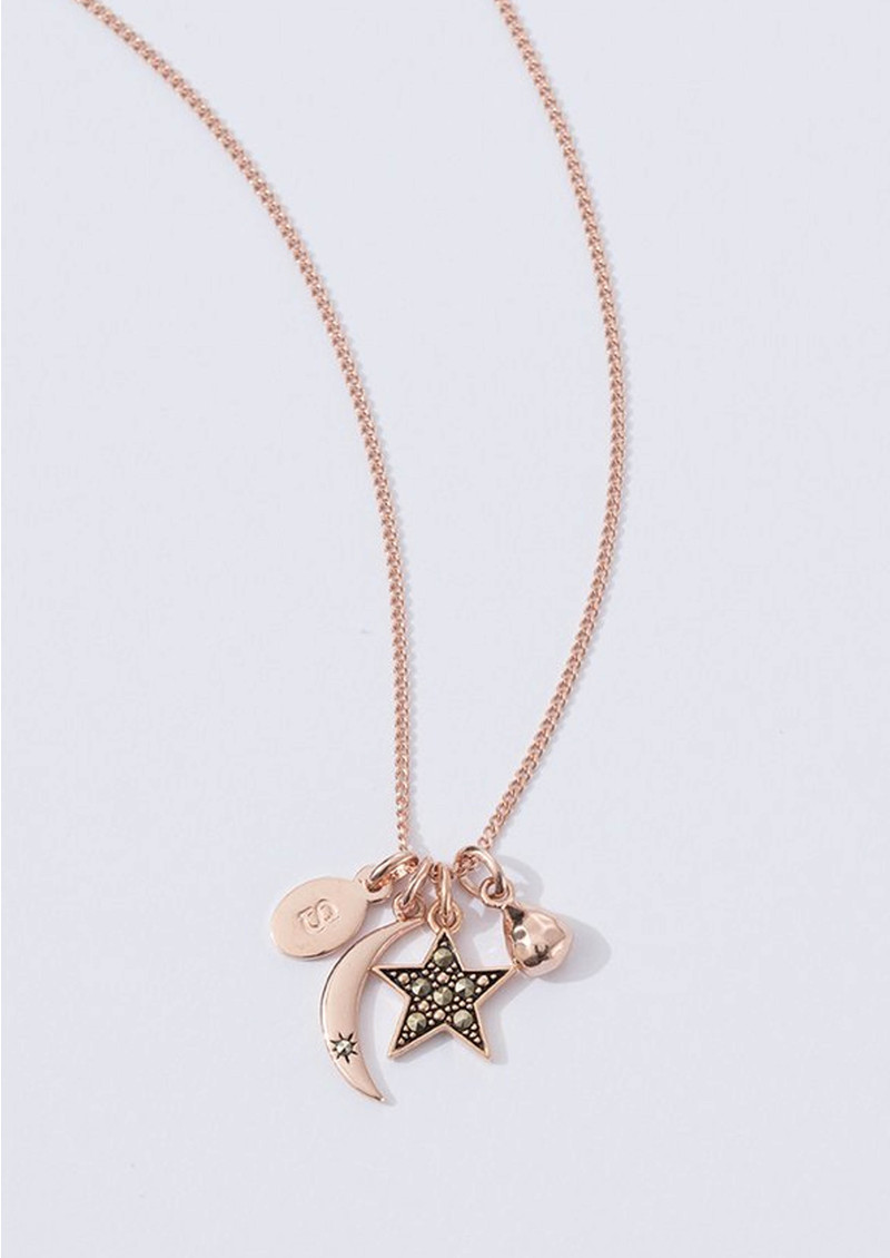 Bespoke Star Marcasite Charm - Rose Gold main image