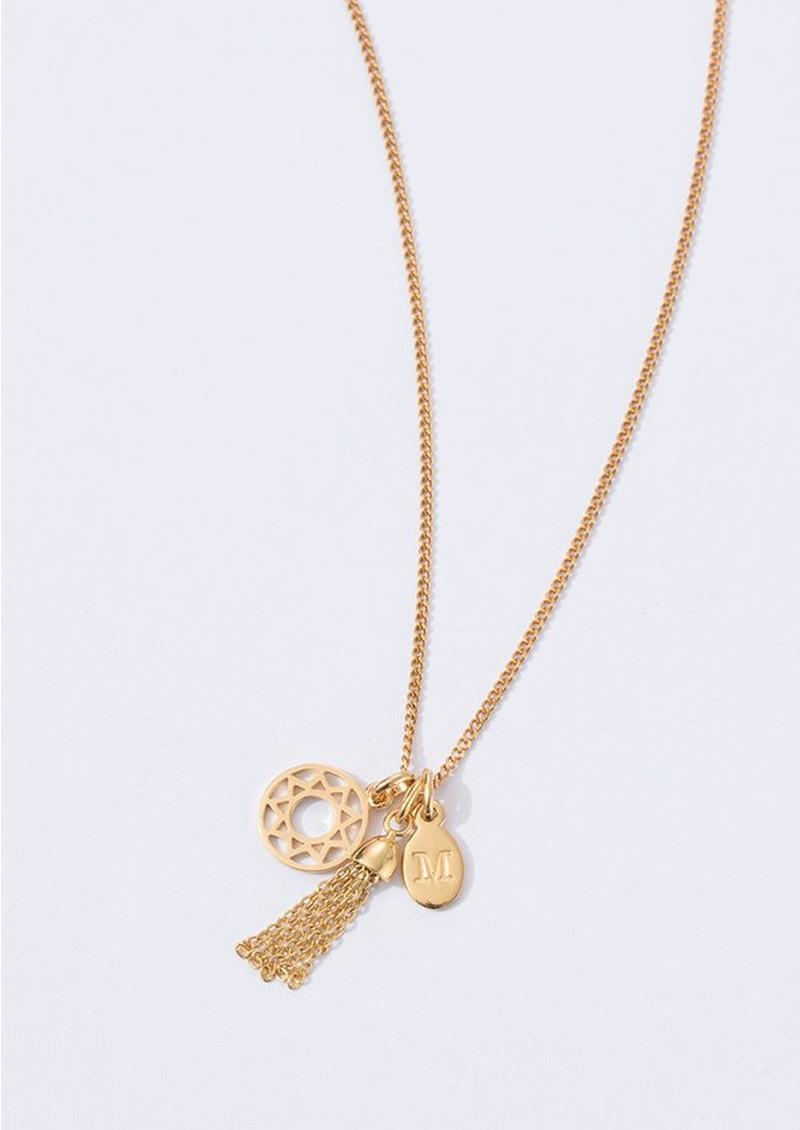 KIRSTIN ASH Bespoke Chain Tassel Charm - Rose Gold main image