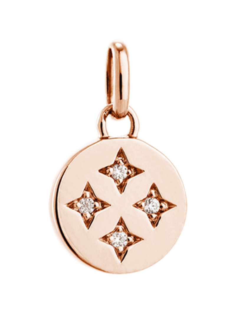 KIRSTIN ASH Bespoke Tiny Constellation Charm - Rose Gold main image
