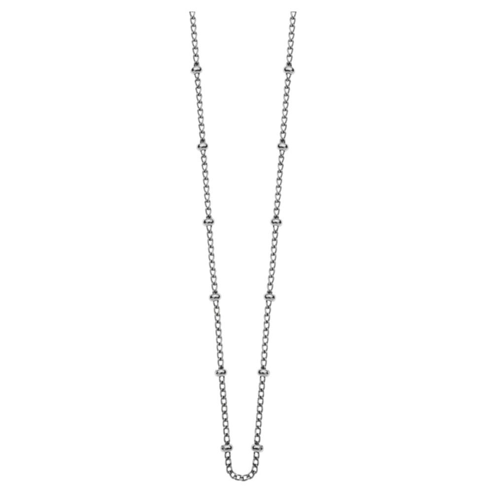 "Bespoke Ball 16-18"" Chain - Silver"