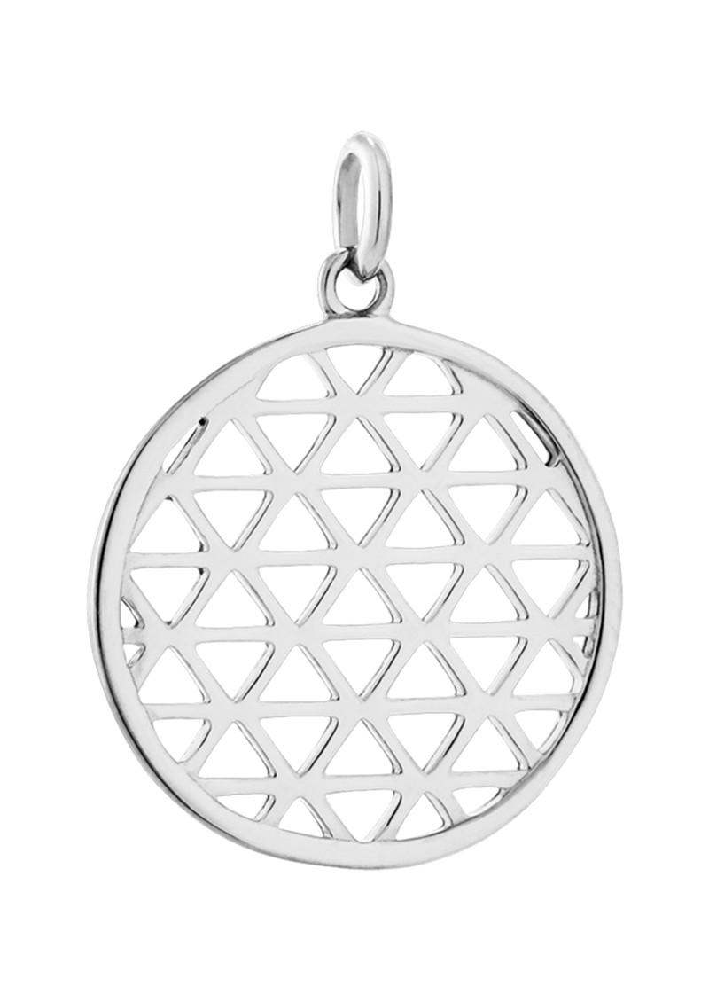 KIRSTIN ASH Bespoke Filigree Circle Charm - Silver main image